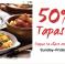 La Tasca 50% off