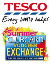 clubcard voucher exchange