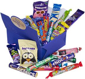 Cadbury gift box selection