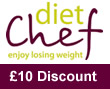 Diet Chef £10 discount spring