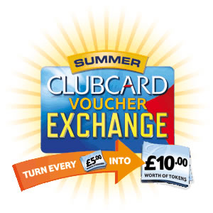 Tesco voucher exchange logo 2012