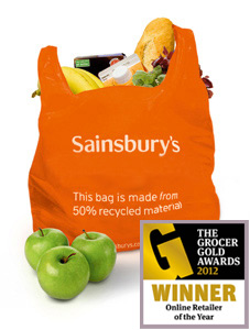 Sainsbury's new £10 online grocery voucher - Food Vouchers
