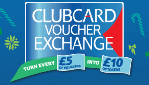 Tesco clubcard exchange xmas