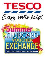 clubcard voucher exchange