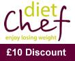 Diet Chef £10 discount spring
