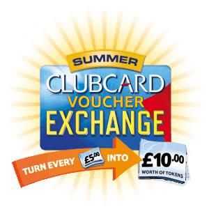 Tesco voucher exchange logo 2012