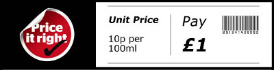 Which unit pricing