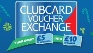 Tesco clubcard exchange xmas